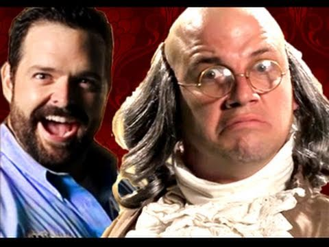 Billy Mays vs Ben Franklin.  Epic Rap Battles of History #10 Music Videos