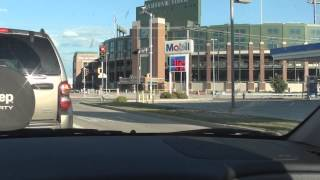 Visit to Lambeau field Green Bay Wisconsin.