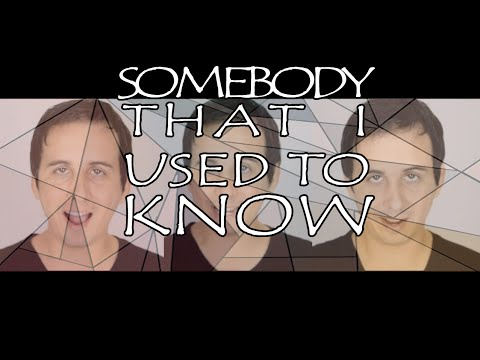 Somebody That I Used To Know (acoustic Cover) - Canal Anos Incríveis video