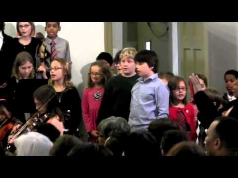 Frankford Friends School Holiday Concert 2012 Clips - 12/25/2012