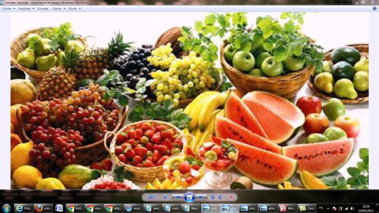 comidas sanas y nutritivas youtube