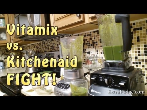 Vitamix 6300/Pro 500 vs Kitchenaid Comparison! Don't buy either one before you watch this video!