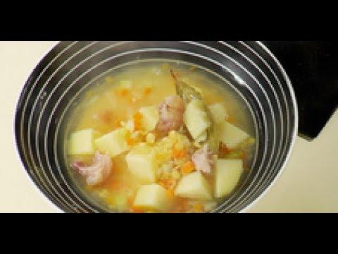Гороховый суп - рецепт приготовления от шеф-повара / Илья Лазерсон / Обед безбрачия / русская кухня