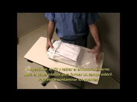 Caterización de la uretra femenina thumbnail
