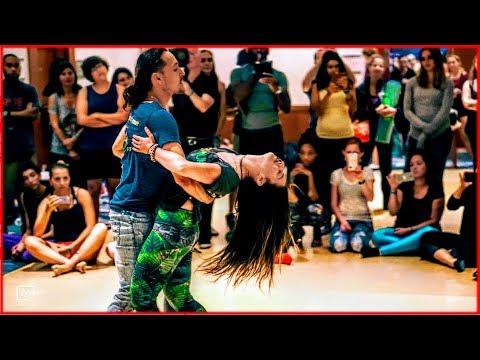 Ry'El &Jessica Lamdon - LambaZouk Dance at the Interfusion Festival: Awakening