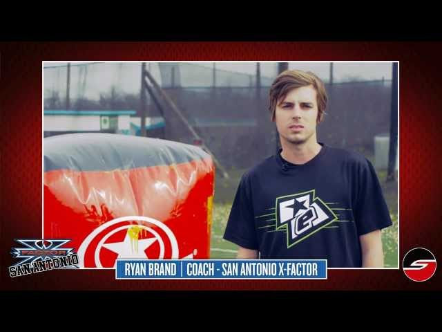 San Antonio X-Factor, Coach Ryan Brand, 2013 Preseason Paintball Update
