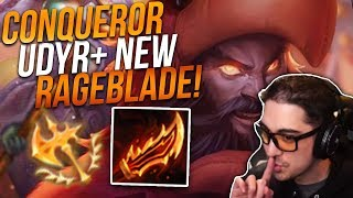 CONQUEROR UDYR TOP VS VLADIMIR | I LOVE NEW RAGEBLADE! - Trick2G
