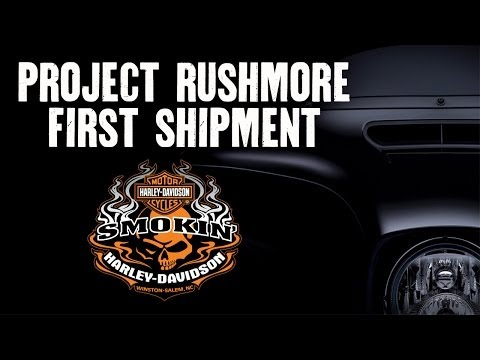 2014 Harley Davidson Motorcycles Arriving at Smokin H D