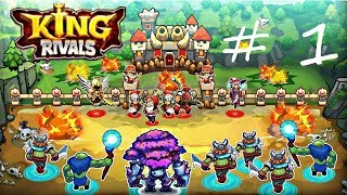 King Rivals: War clash PvP RTS multiplayer game By TOPEBOX - ( Win 4 - Lose 0 ) - Episode 1