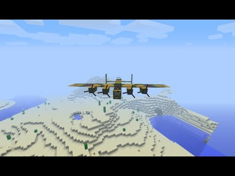 MineCraft {1.5.2} [Обзор Модов] №70 - FLAN (World War Two)