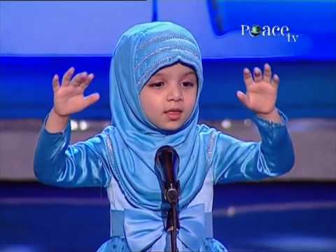 Fatima Kodia's - 4 year old Fatima Kodia's speach on Peace TV