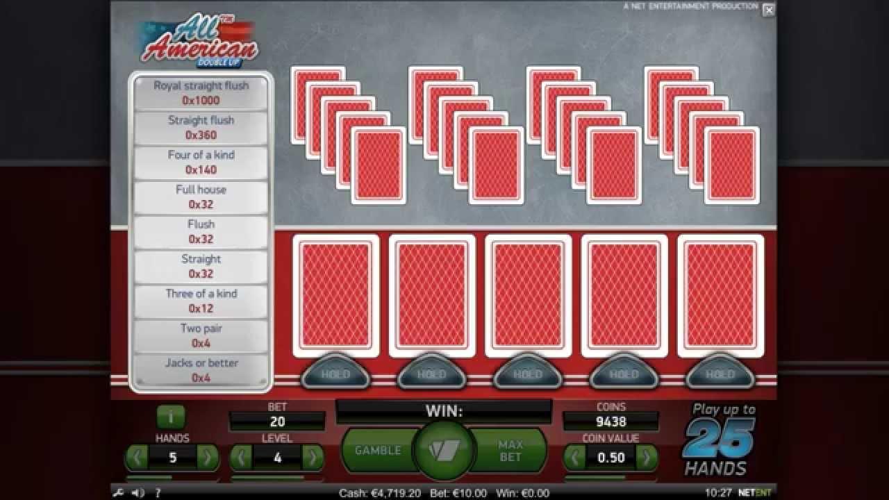 Видео покер игровые автоматы, новые правила - Video Pokers Instructional - NetEnt