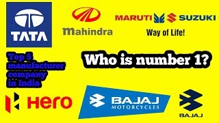 Top 5 automobile manufacturer company in India - The Astro Hacker Knowledge World