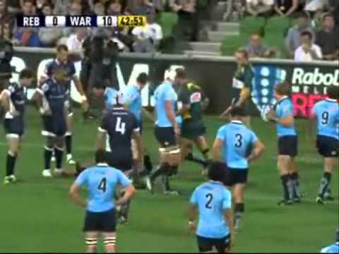 Rebels vs Waratahs Rd1 Highlights - Super Rugby 2011- Round 1- Rebels vs Waratahs