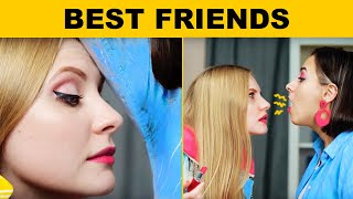 THINGS ONLY BEST FRIENDS DO || Relatable facts by 5-Minute FUN