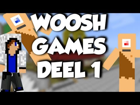 Minecraft: Woosh Games, Ronald, Timo en Stan - Deel 1