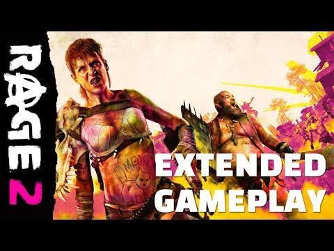 RAGE 2: атака на «Эден» — дополненное видео игрового процесса
