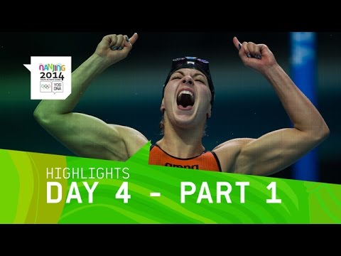 Best of Day 4 - Part 1 | Nanjing 2014 Youth Olympic Games