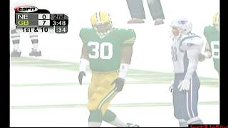 Snowy, Night Game | NE @ GB | ESPN NFL 2K5 CPU Games