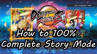 How to 100% Complete Story Mode in Dragon Ball FighterZ, including Special Events Teams Guide