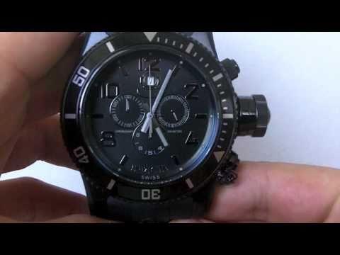 Invicta Watch Men's 0401 Russian Diver Combat Scuba Edition Chronograph Swiss