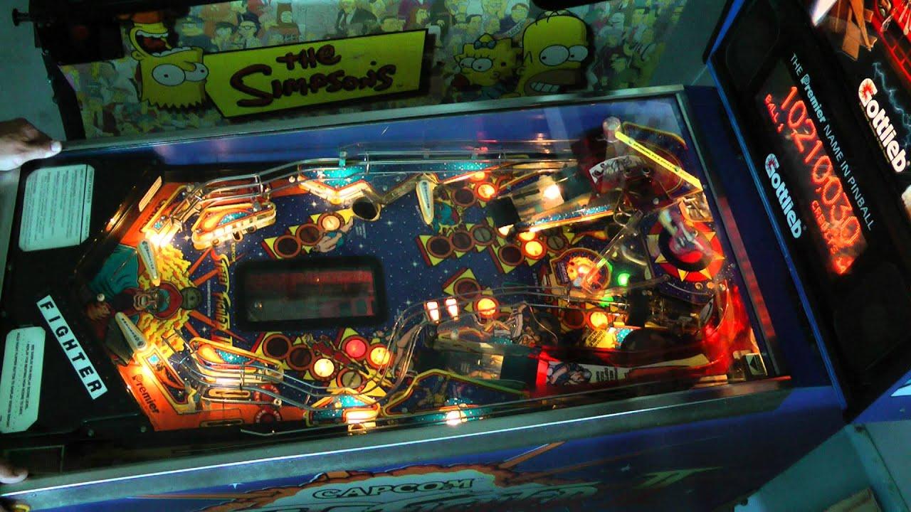 Craigslist Green Bay >> Street Fighter 2 Pinball Machine - YouTube