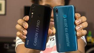 Tecno Camon 11 Pro vs Huawei Y9 2019