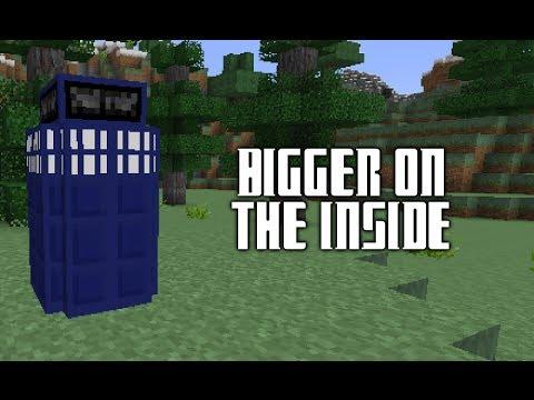 Minecraft TARDIS Bigger On The Inside Vanilla