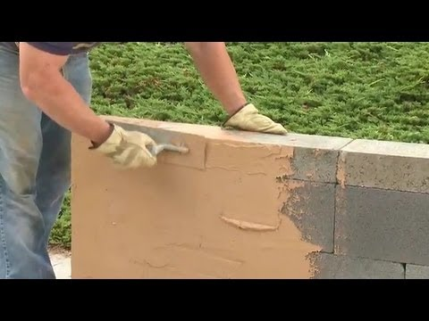 How to Build a Block Wall Without Mortar