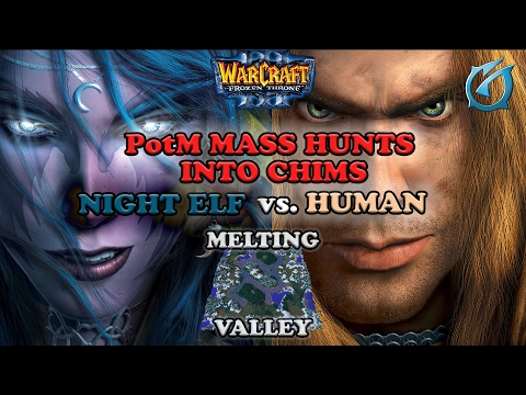 Grubby | Warcraft 3 The Frozen Throne | NE v HU - PotM Mass Hunts into Chimaeras - Melting Valley