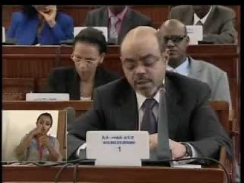 Meles Zenawi's address to Parliament Part 1 April 17, 2012 - Part 1