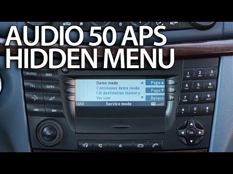 Cover Lagu How to enter hidden menu in Mercedes Audio 50 APS (engineering mode) W211 E-Class