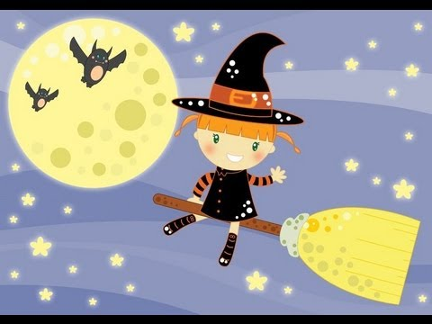 HALLOWEEN in INGLESE - Witches, strega! per bambini