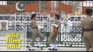 India-Pakistan Wagah border and amusing display of one-upmanship!