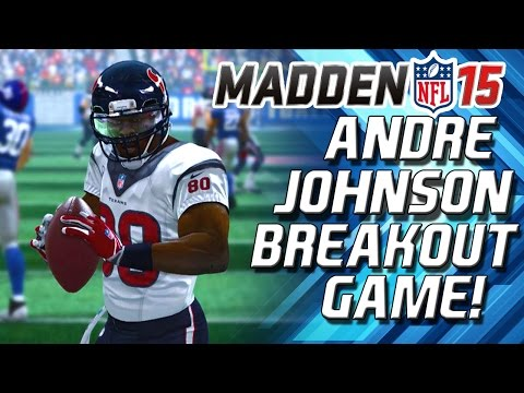 Madden 15 - Andre Johnson Breakout Perfomance! - The Mud Bowl! Madden 15 CFM Sup