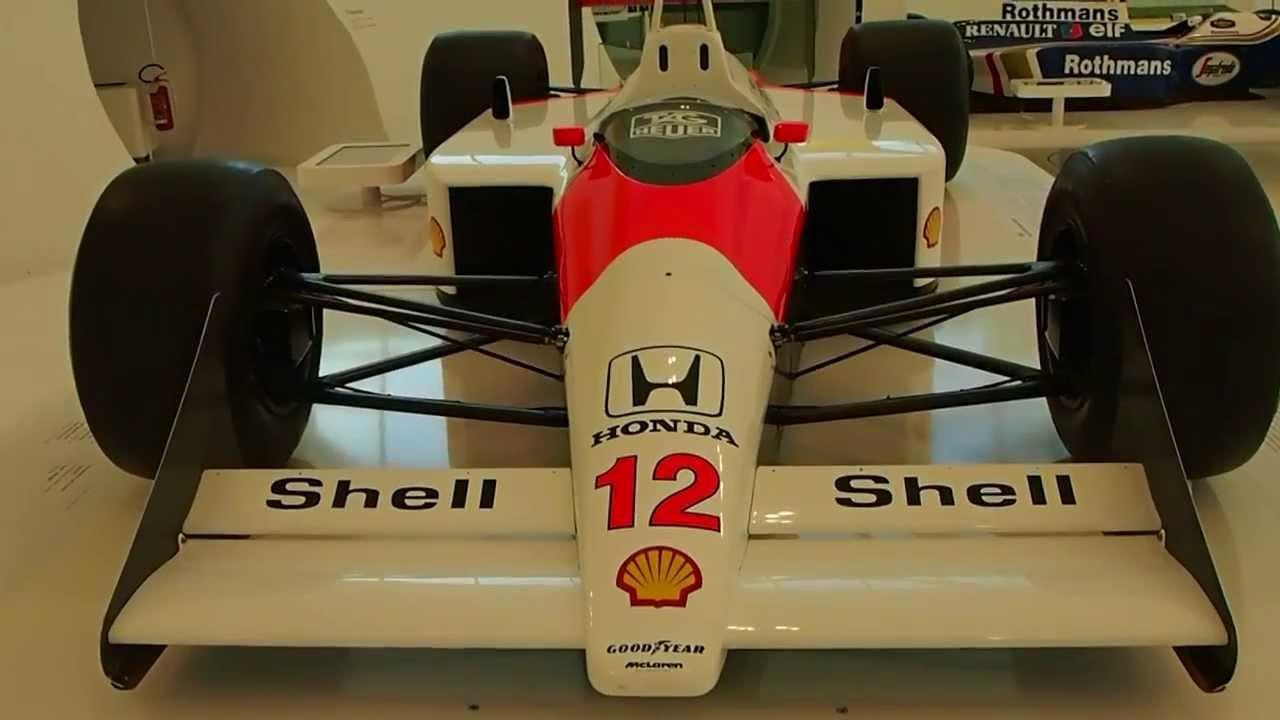 F1 Mclaren Honda Mp4 4 1988 Driven By Ayrton Senna