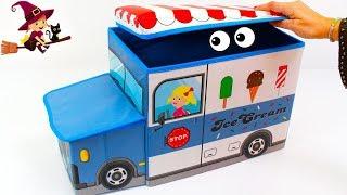 Camión de Helados con Sorpresas