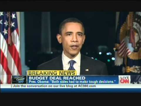 President Obama Budget Deal Averts Government Shutdown (April 8, 2011)
