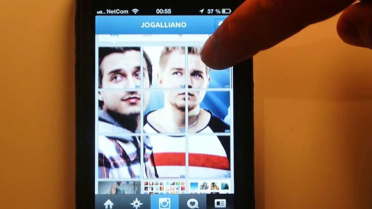 Как в инстаграме сделать фото большими