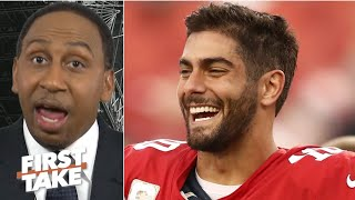 Jimmy Garoppolo proved he's the 49ers' weak link vs. the Seahawks - Stephen A. | First Take