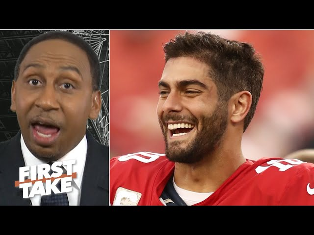 Jimmy Garoppolo proved he's the 49ers' weak link vs. the Seahawks - Stephen A. | First Take thumbnail