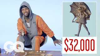 Tory Lanez Shows Off His Insane Jewelry Collection | GQ