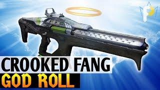 Better than Queenbreaker? The Crooked Fang GOD ROLL - Destiny 2