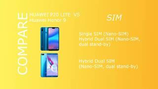 Huawei P20 Lite vs Honor 9 !!