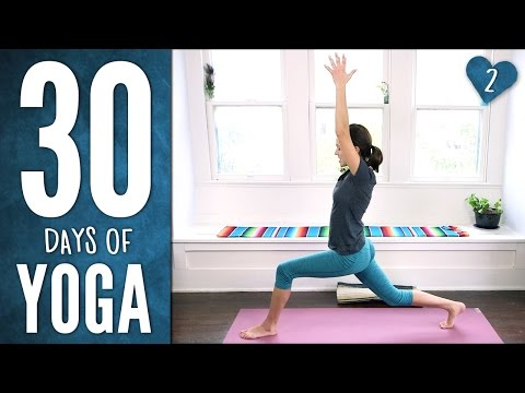 Day 2 - Stretch & Soothe - 30 Days of Yoga thumbnail