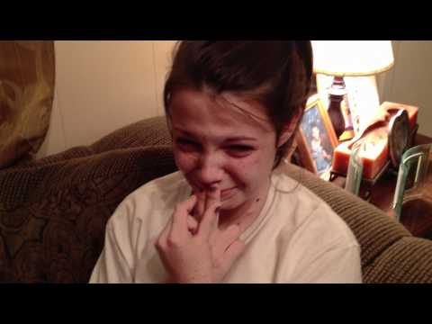 Reaction to Justin Bieber BELIEVE tickets!!!