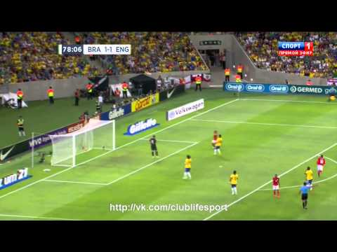 Бразилия 2-2 Англия