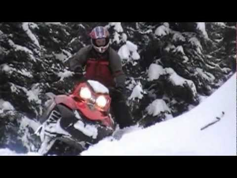 Deep Powder in Northwest Montana 3/22/2012