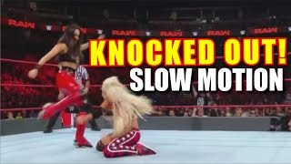 Brie Bella Knocks Out Liv Morgan! | SLOW MOTION (VIDEO) Sept. 24th 2018