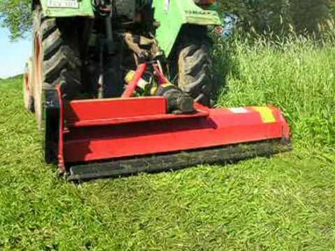 Traktor mulcher